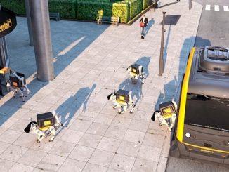 Continental Robot Kuryeler Geliyor
