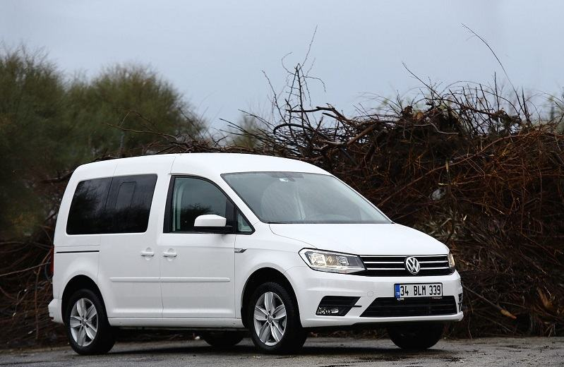 Volkswagen Caddy Benzinli Testi