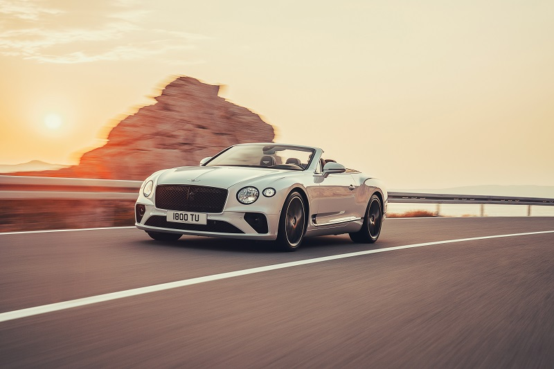Yeni Bentley Continental GT Convertible