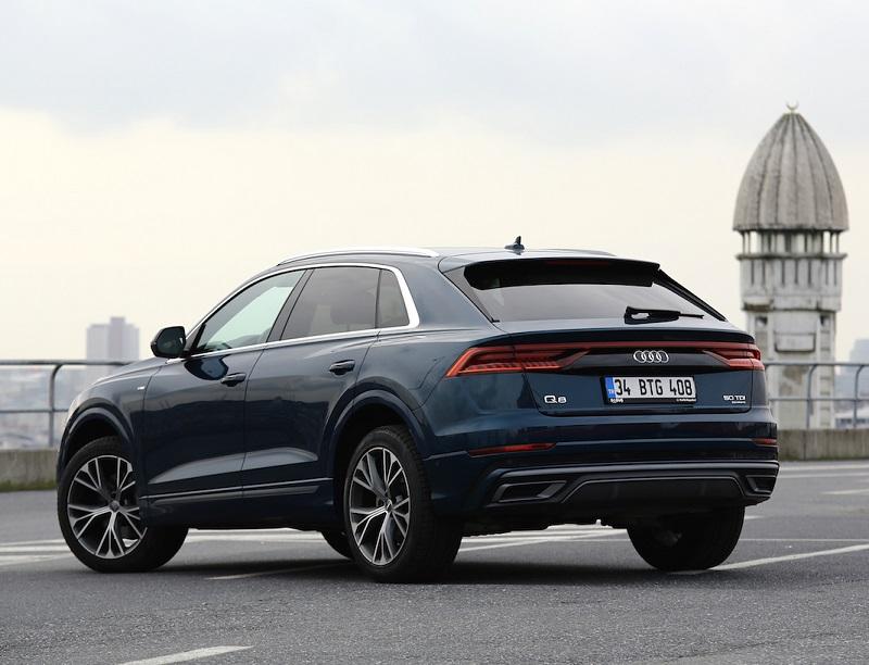 Audi Q8 Testi 50TDI