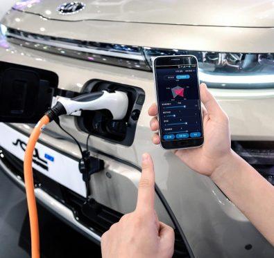 Elektrikli Hyundai Akıllı Telefon