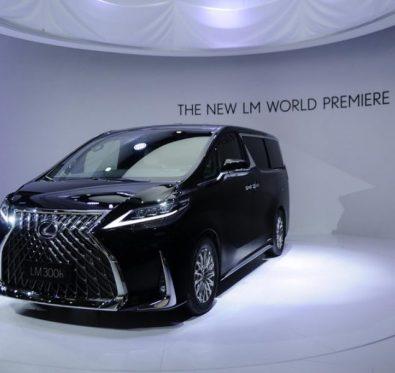 Lexus LM 350 Tanıtıldı