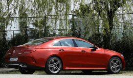 Mercedes Benz CLS Testi