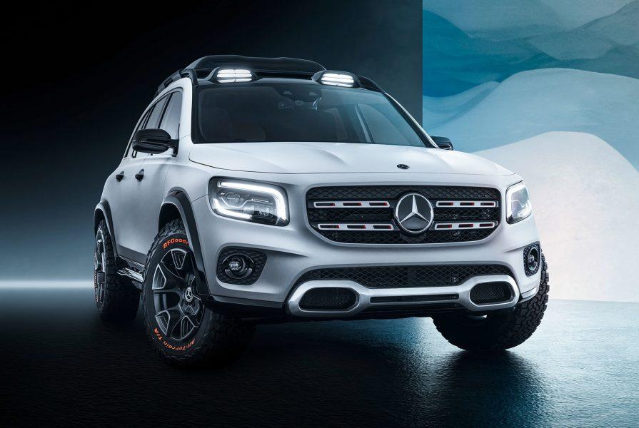 Mercedes GLB Konsept Tanıtıldı