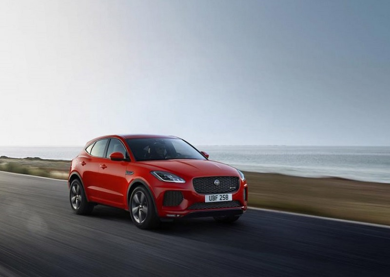 Jaguar EPace Chequered Flag Edition