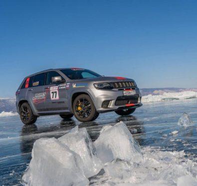Jeep Grand Cherokee Trackhawk Rekor
