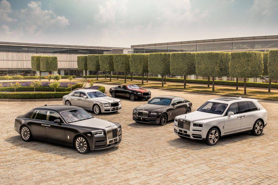 Rolls Royce 115 Yaşında