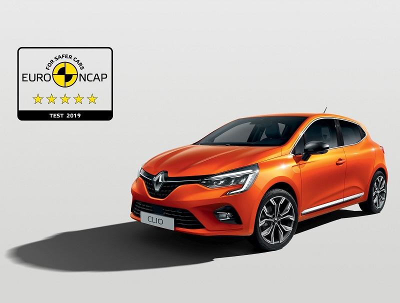 Yeni Renault Clio EuroNCAP