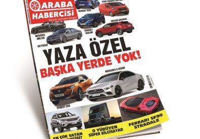 Araba Dergisi Araba Habercisi Temmuz