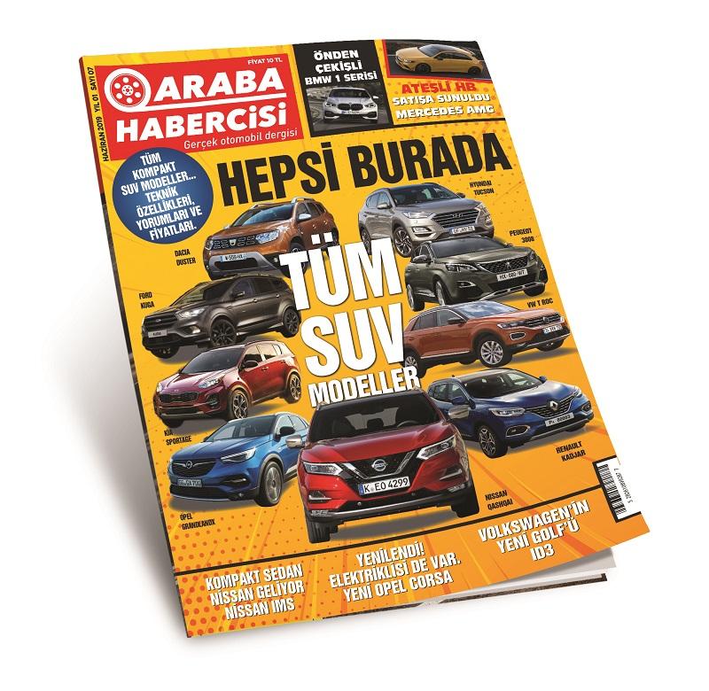 Araba Habercisi Dergisi Tüm Sayılar