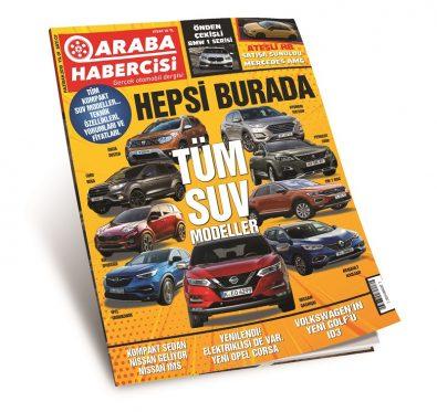Araba Habercisi Haziran SUV Araçlar