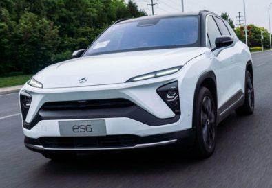 Elektrikli Arabalar Çin Nio Modelleri