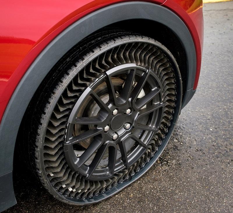 Havasız Araba Lastiği Michelin