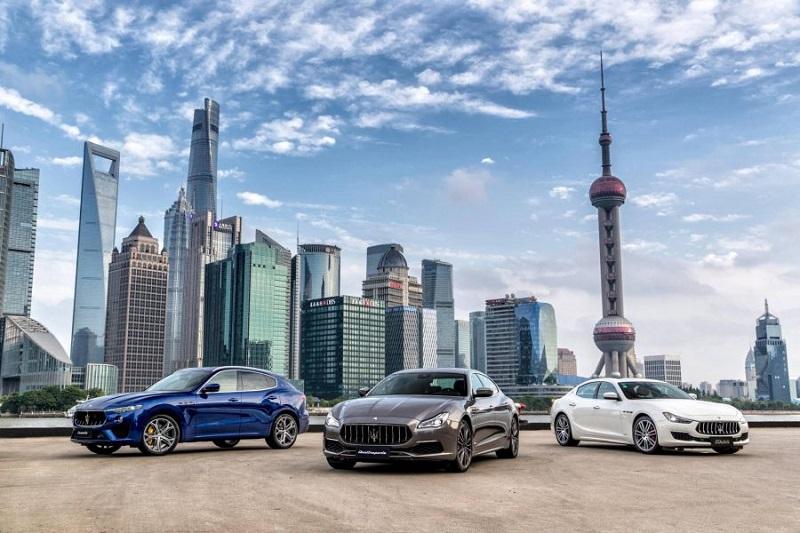 Maserati 105 Yıl Çin Kutlamaları