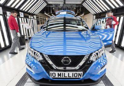 Nissan İngitere 10 Milyon Üretim