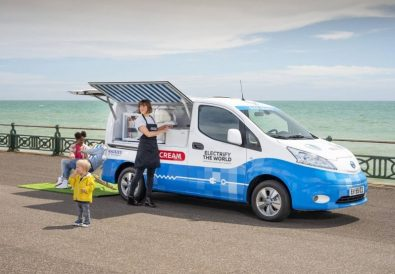 Nissan Elektrikli Dondurma Aracı Konsepti