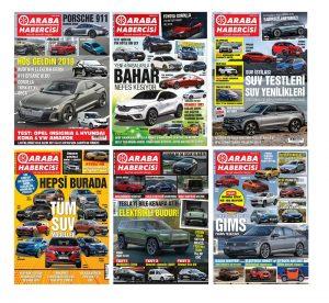 Otomobil Dergileri Araba Habercisi Sayıları