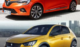 Peugeot 208 Renault Clio Karşılaştırma