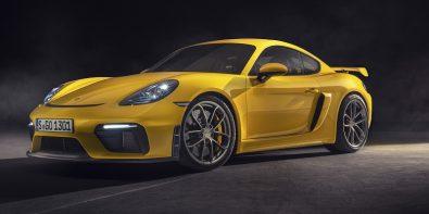 Porsche718 Cayman GT4 Tanıtıldı
