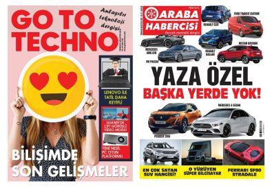 Teknoloji Dergisi Hediyeli Araba Dergisi