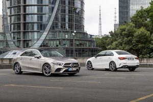 Mercedes A Serisi Sedan Tasarım