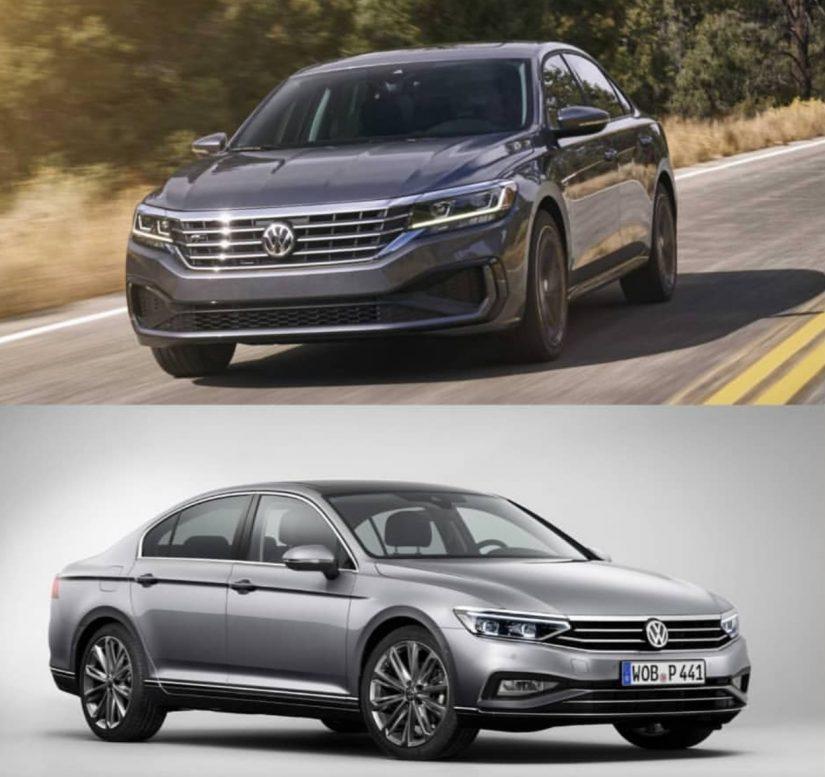 2020 Volkswagen Passat Karşılaştırma