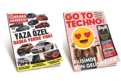 Araba ve Teknoloji Dergileri Temmuz Sayısı