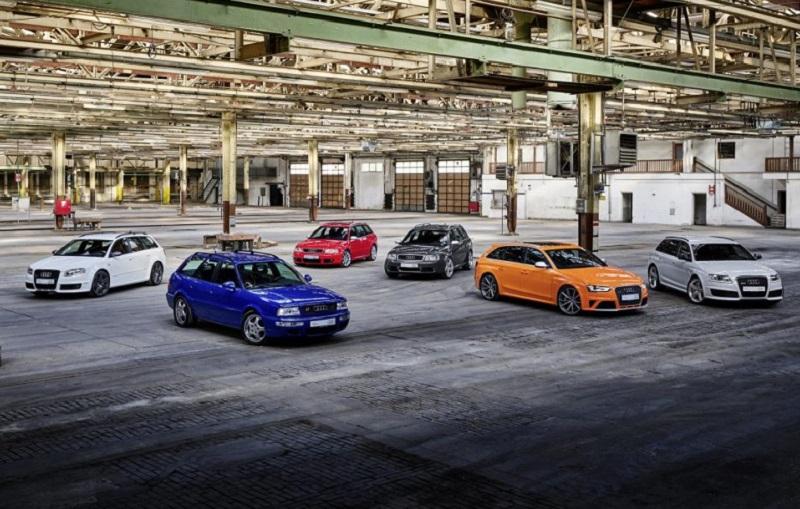 Audi RS 25 Yaşında