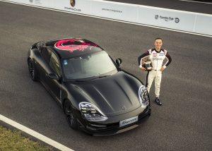 Elektrikli Porsche Taycan Test