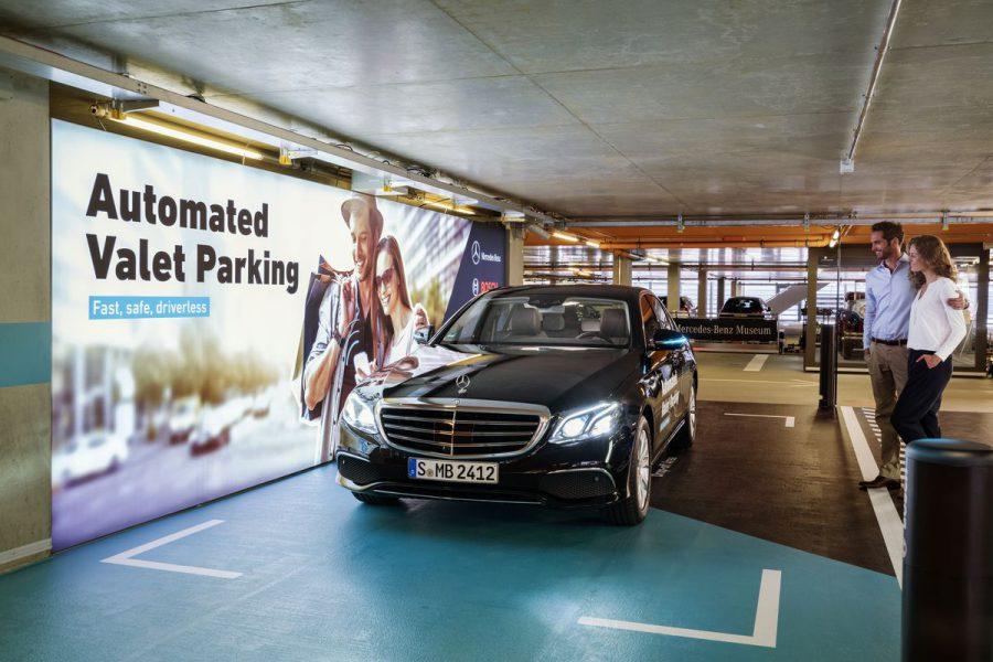 Mercedes Benz Bosch Otonom Park