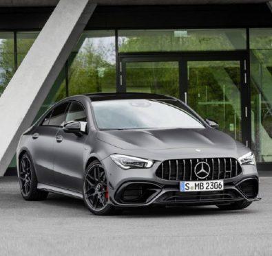 Mercedes Benz CLA 45 AMG Tanıtıldı