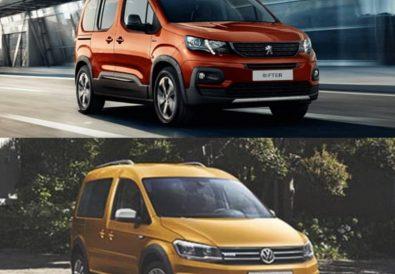 Peugeot Rifter Volkswagen Caddy Karşılaştırma
