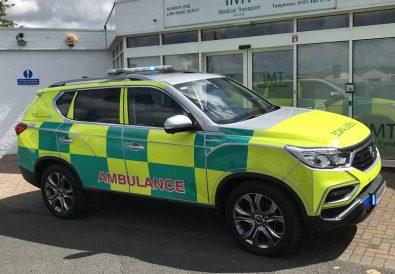 SsanYong Rexton Ambulans