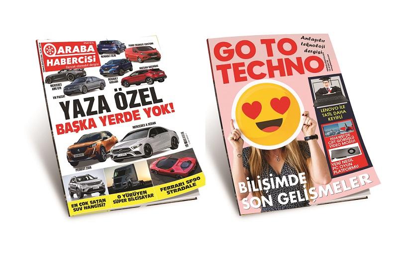 Teknoloji Dergisi GoToTechno Dergilikte