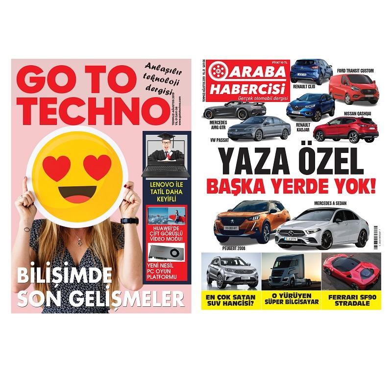 Teknoloji ve Araba Dergisi Turkcell Dergilik