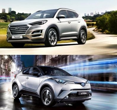 Toyota CHR Hyundai Tucson Karşılaştırma