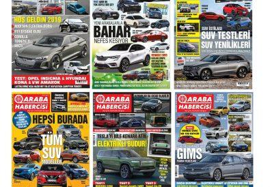 Turkcell Dergilik Araba Habercisi Dergisi Tüm Sayılar