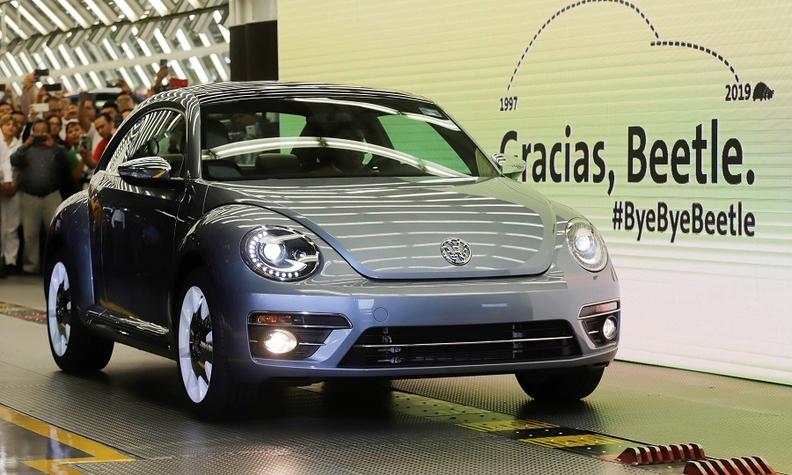 Volkswagen Beetle Kaplumbağa Üretimini Bitirdi