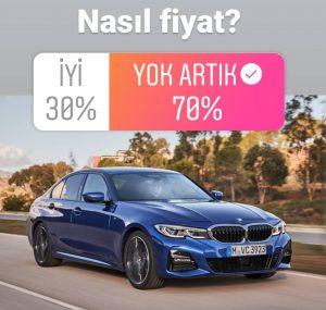 Yeni BMW 3 Serisi Fiyatları