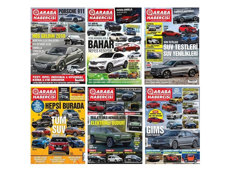 Araba Dergisi Araba Habercisi Turkcell Dergilik