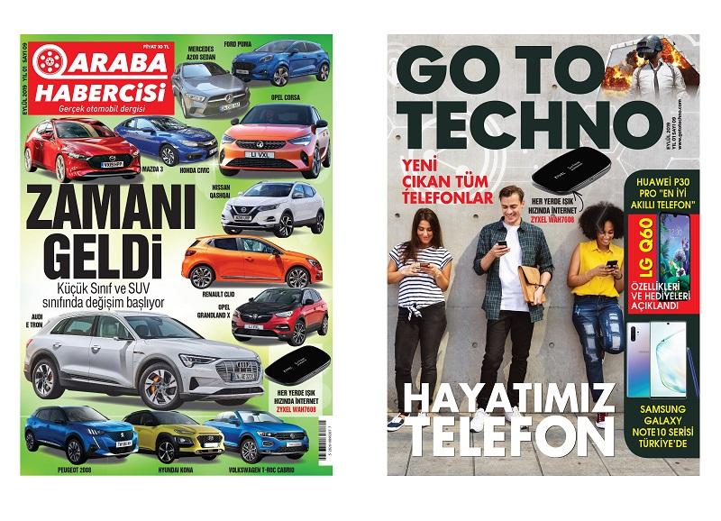 Araba Habercisi Dergisi Eylül Sayısı Dergiliklerde