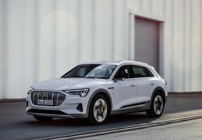 Elektrikli Audi etron çarpışma testleri