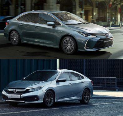 Honda Civic Toyota Corolla Karşılaştırması 1