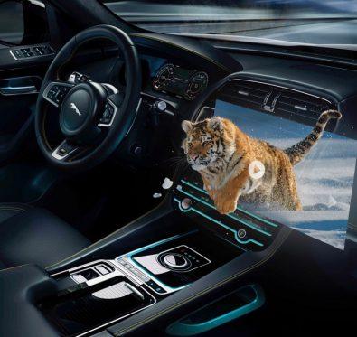 Jaguar Land Rover3D Ekranlar Geliyor