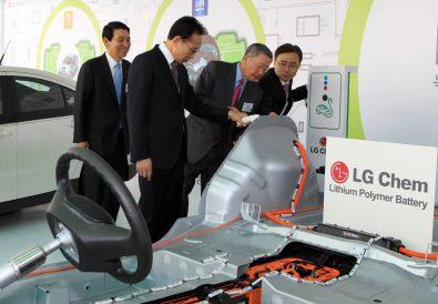 LG Batarya Fabrikası Güney Kore
