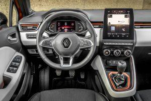 2020 Renault Clio Kokpit Tasarımı