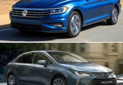 Volkswagen Jetta Toyota Corolla Karşılaştırması