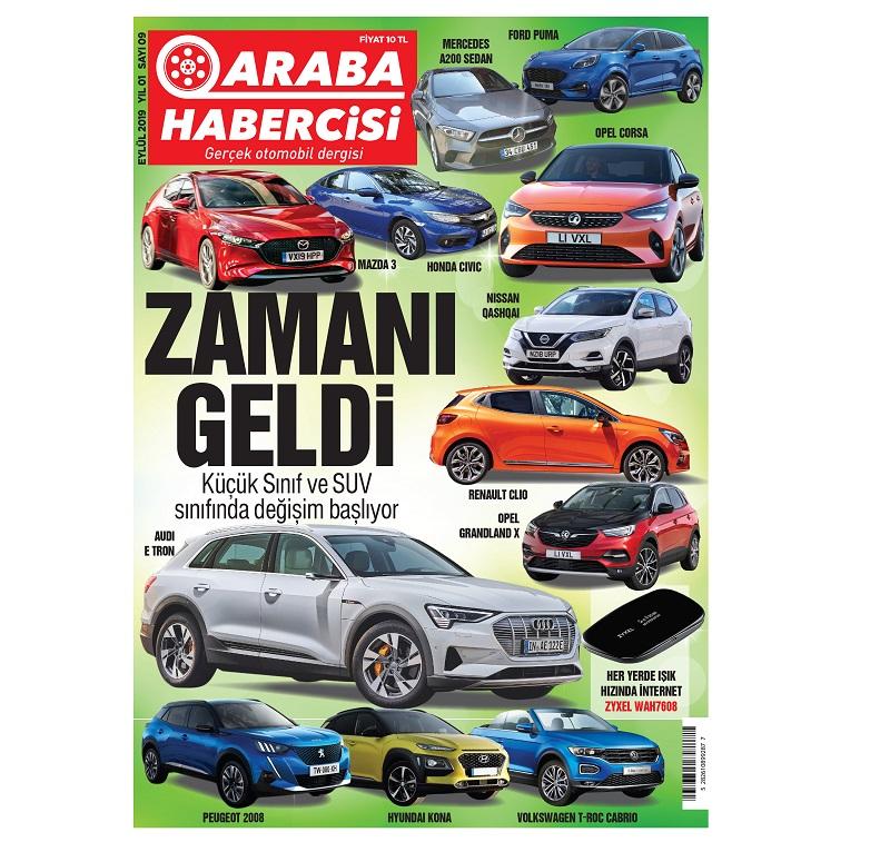 Araba Dergisi Araba Habercisi Sayıları