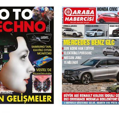 Araba Habercisi Dergisi Ekim Sayısı Çıktı