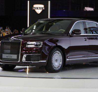 Rus Premium Otomobil MarkasıAurus.